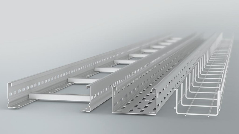 máng cáp (cable tray)